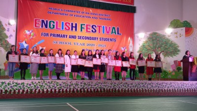 Festival Tiếng Anh 2020